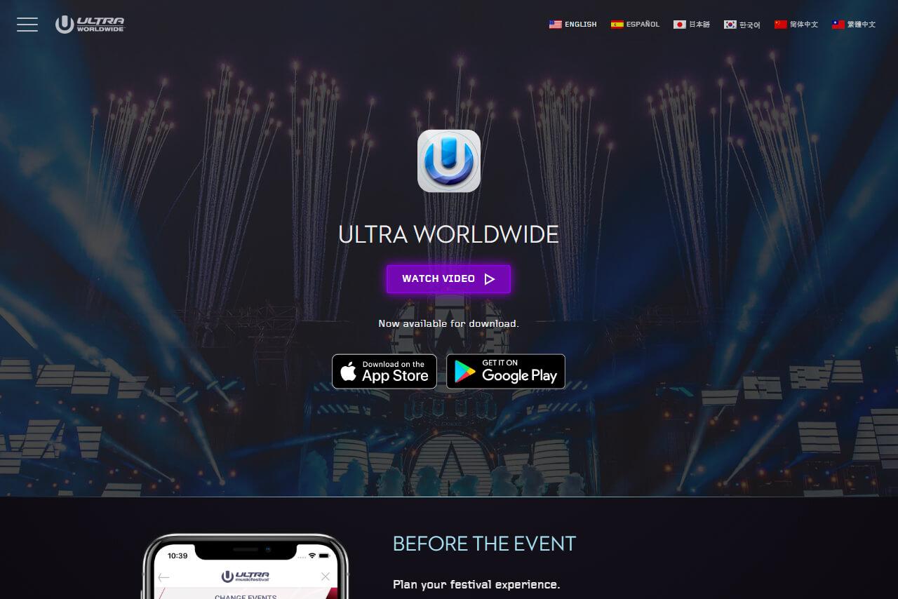 Ultra Worldwide App
